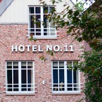 Hotel No 11 Außenansicht am Tag