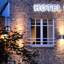 Hotel No 11 Exterior view in the evening